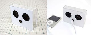 Illustration for article titled iPod Nano Speaker Kit Helps You Recycle the Packaging