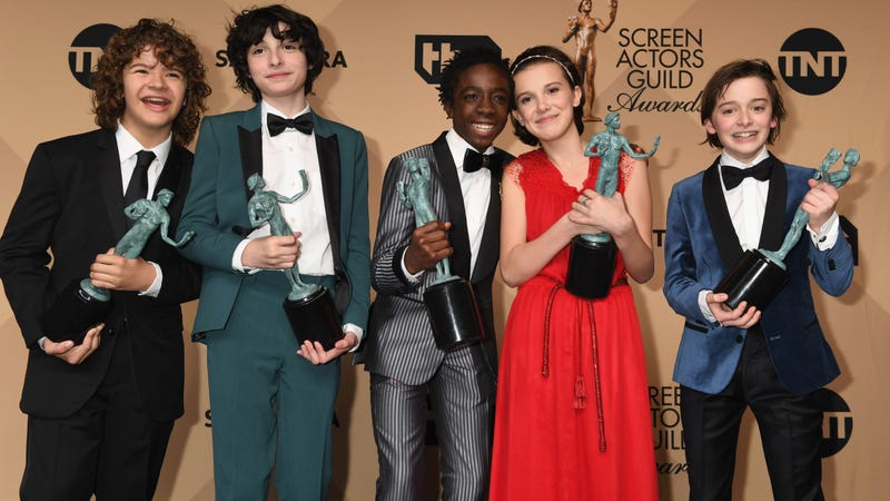 Last year's adorable winners for Outstanding Ensemble In A Drama Series (Photo: Jeff Kravitz/FilmMagic)