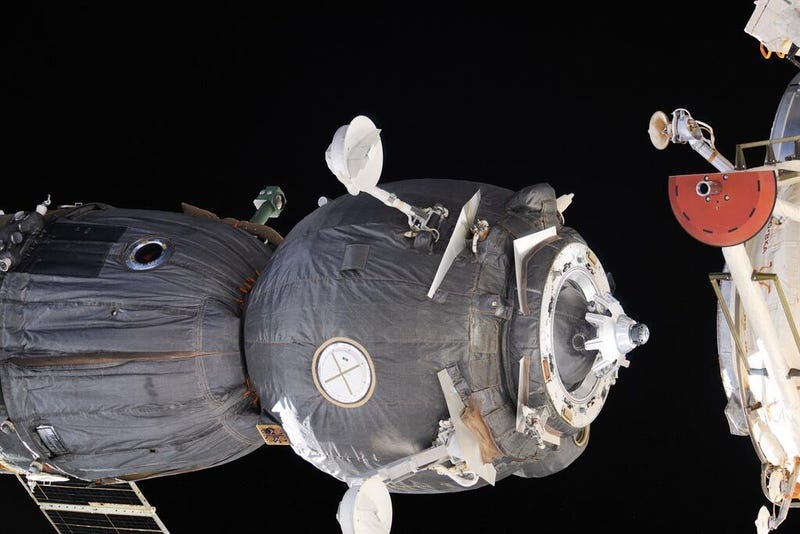 Illustration for article titled Soyuz undocks from ISS