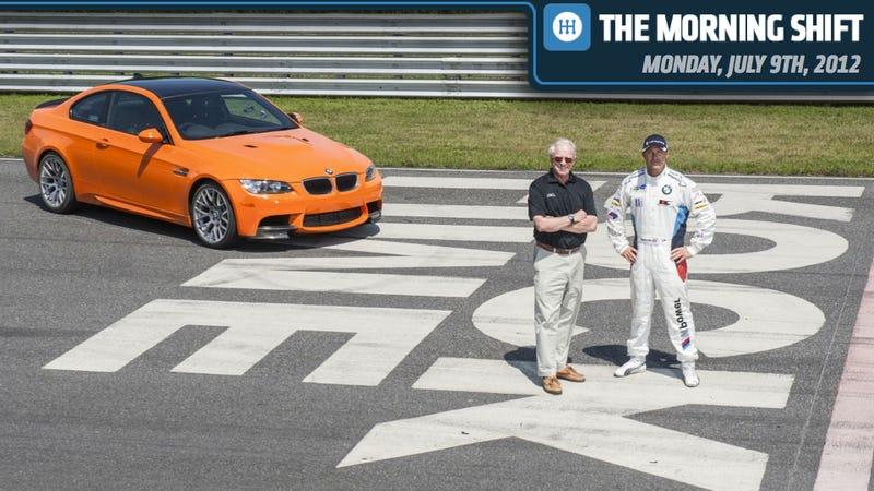 Illustration for article titled BMW's Lime Rock Park M3, Lots More Minis, And Audi Cuts Itself Slack