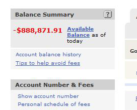 Illustration for article titled What It's Like To Suddenly See Your Bank Account at Negative $900,000 Thanks to PayPal