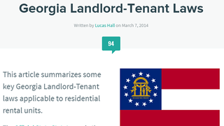 Illustration for article titled This Site Breaks Down Landlord Laws For Your State