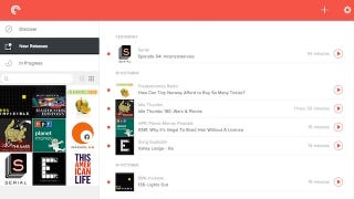 Illustration for article titled Pocket Casts Gets a Syncing Web Player for Podcasts