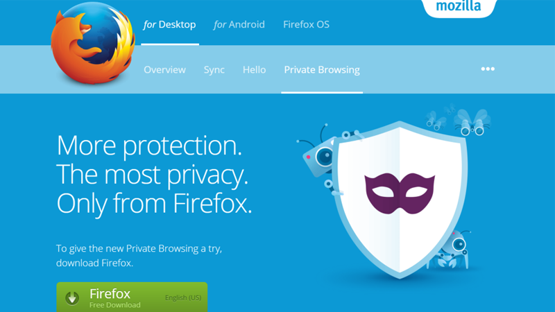 Illustration for article titled Firefox Adds Tracking Protection, Tab Audio Indicators, and More