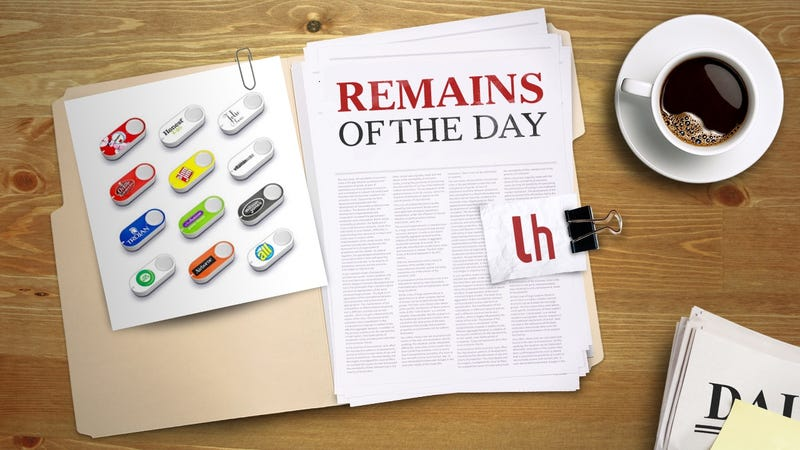 Illustration for article titled Remains of the Day: Amazon to Add Dash Functionality to More Smart Home Devices