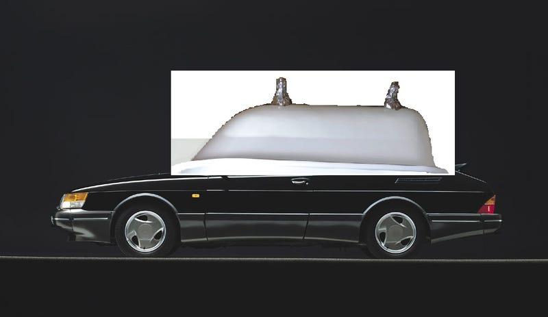 Illustration for article titled Saab 900 SPG