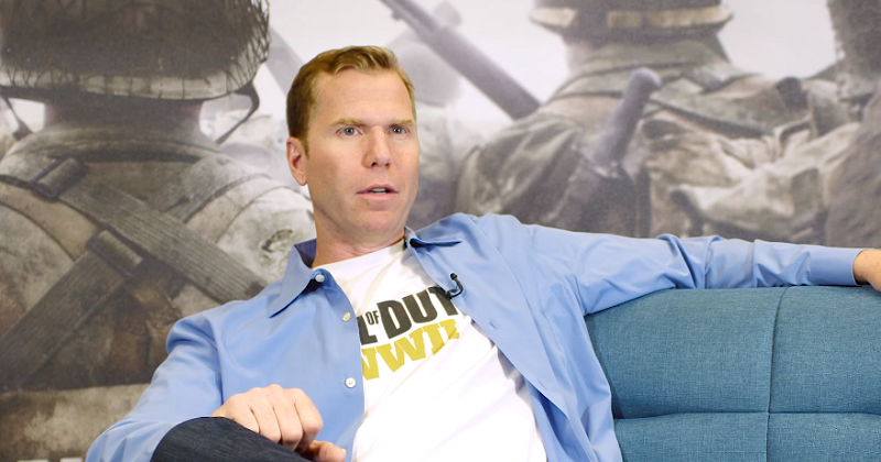 Michael Condrey, via promotional Activision video for Call of Duty: WWII