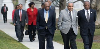 Members of the Congressional Black Caucus (Saul Loeb/AFP/Getty Images)