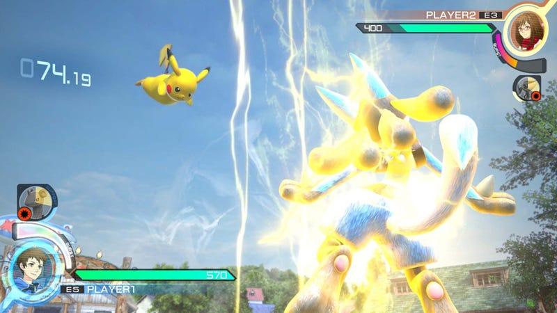 Illustration for article titled Pokkén Tournament is Not Tekken With Pokémon