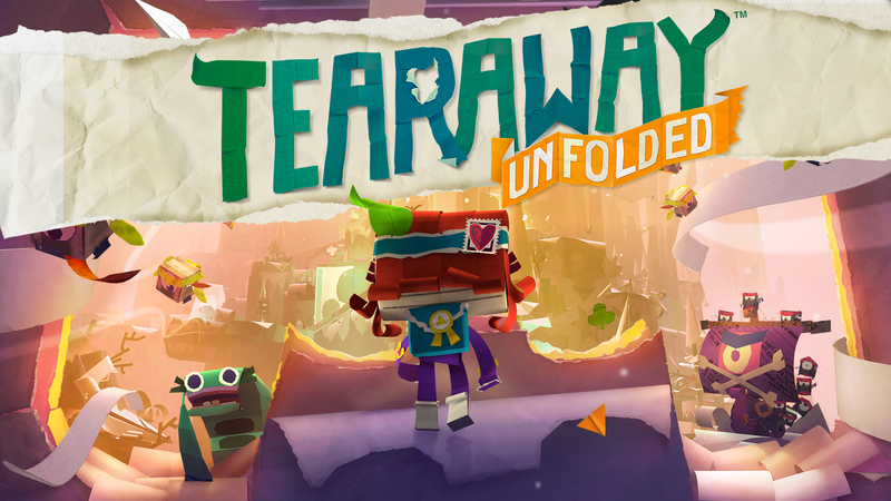Illustration for article titled Blip - Am Streaming Tearaway: Unfolded for PS4 [Done for Now]