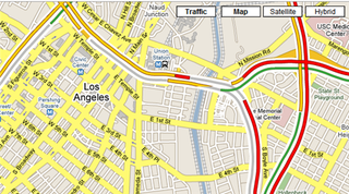 Illustration for article titled Google Maps traffic information