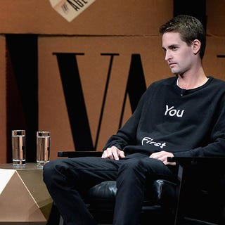 Snap will say literally anything to prove its stock is for Spiegel young money
