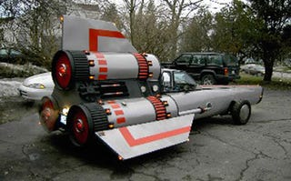 A Gallery Of Fans PimpedOut Battlestar Star Wars Cars - Pimped out cars
