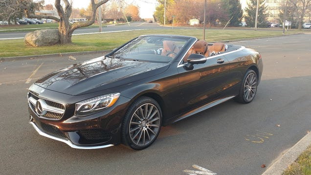 The S-Class convertible returns after a long absence.