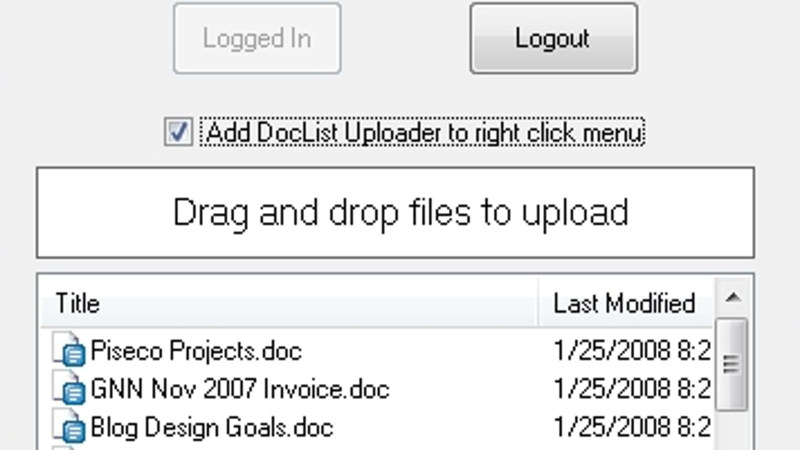 Put Documents Online in One Click with Google Docs Uploader