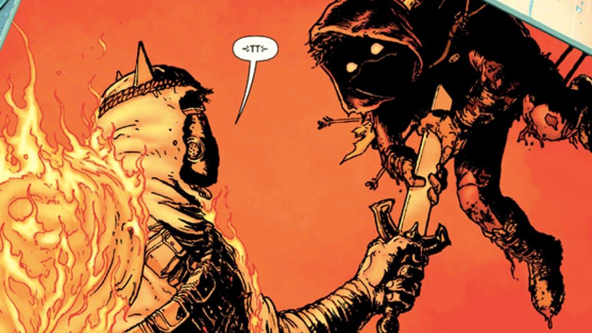 The art of death in superhero comics