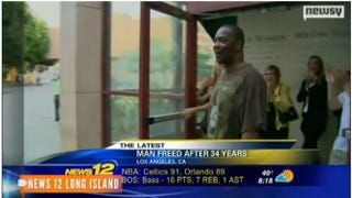 Kash Delano Register leaves prison Friday after serving 34 years in prison on a wrongful conviction.News 12 Long Island