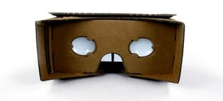 Illustration for article titled You Can Already Buy a Pre-Made Google Cardboard Headset Right Here