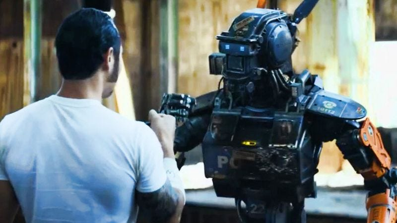 Illustration for article titled A New Era! 'Chappie' Will Be The First Direct-To-GIF Movie