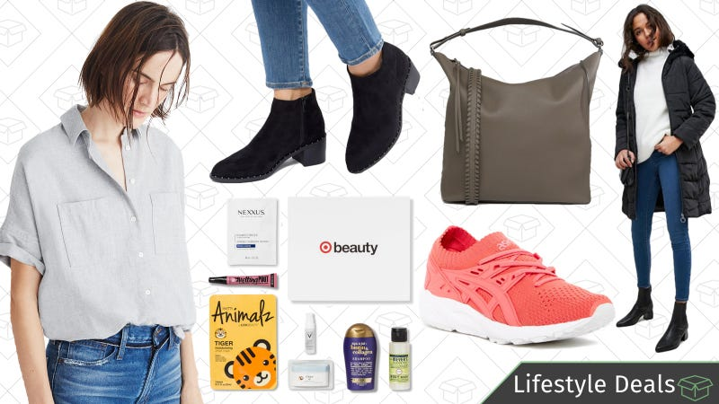 Illustration for article titled Tuesday's Best Lifestyle Deals: Target Beauty Boxes, ASOS, Madewell, ASICS, and More