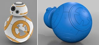Illustration for article titled You Can Already 3D Print Yourself a Copy of That Star Wars Ball Droid