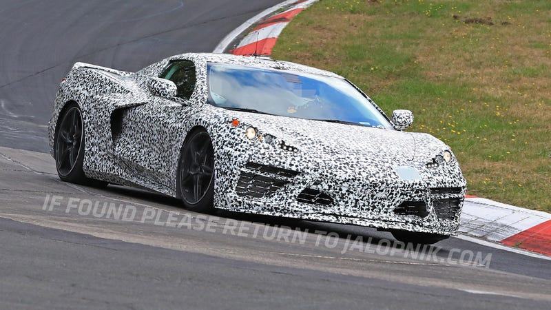 Here S The Mid Engine 2020 Chevrolet Corvette Storming The Nurburgring