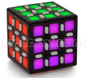 Illustration for article titled LED Rubiks Cube is Unnecessary Digitization of a Classic