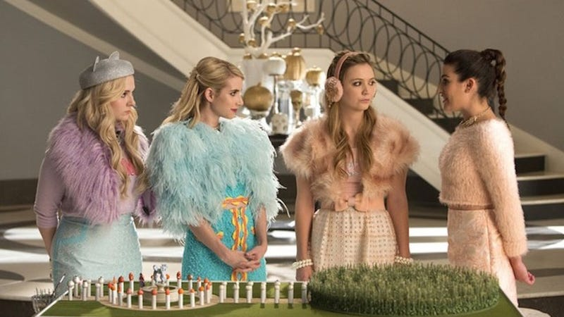 Illustration for article titled In Classic Ryan Murphy Fashion, Scream Queens Loses Sight of Itself