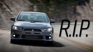 Illustration for article titled The Mitsubishi Evolution X Is Dead After The 2015 Model