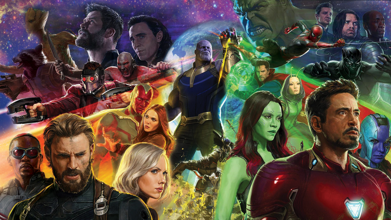 Illustration for article titled Ranking the Marvel Cinematic Universe