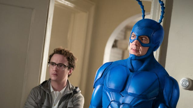 Ben Edlund concedes, says there's no saving Amazon's The Tick