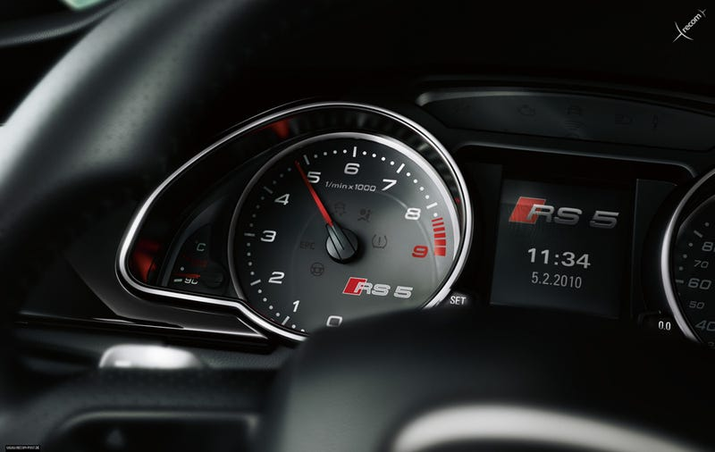 Illustration for article titled Audi RS5: First Photos