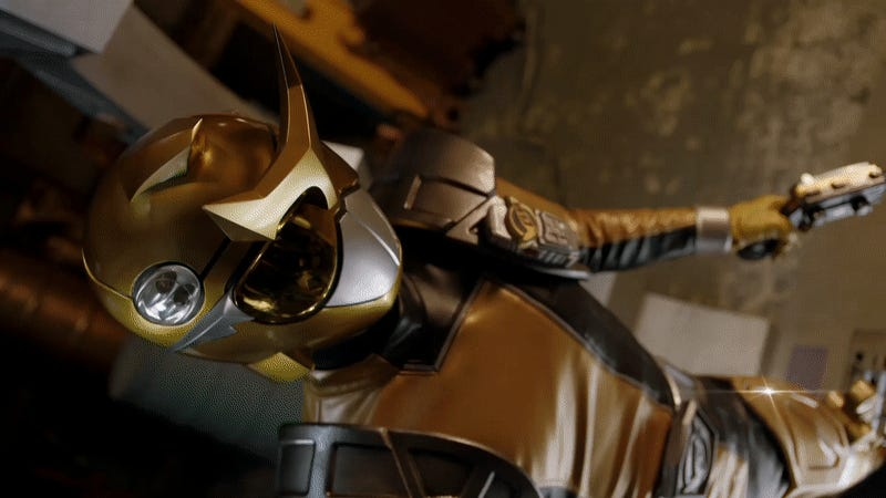 Get Your First Look at Power Rangers: Beast Morphers' Legendary Gold Ranger