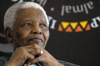 Former South African President and Nobel Peace Prize laureate Nelson Mandela at his home in Cape Town on Aug. 20, 2008Rodger Bosch/AFP/GettyImages