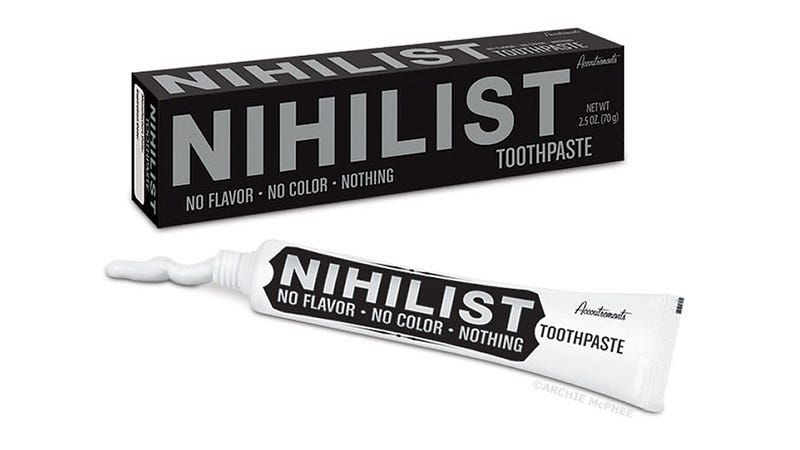 Illustration for article titled Does This Colorless, Flavorless, Nihilist Toothpaste Even Exist?