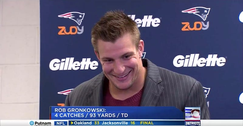 Illustration for article titled Gronk Knows What Number Comes After 68