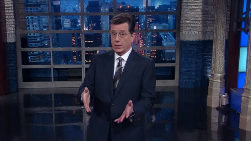 (Photo: The Late Show With Stephen Colbert)