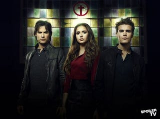 Illustration for article titled Vampire Diaries Cast Photos