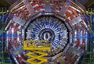 Illustration for article titled New discovery could be best hint yet of the elusive Higgs boson