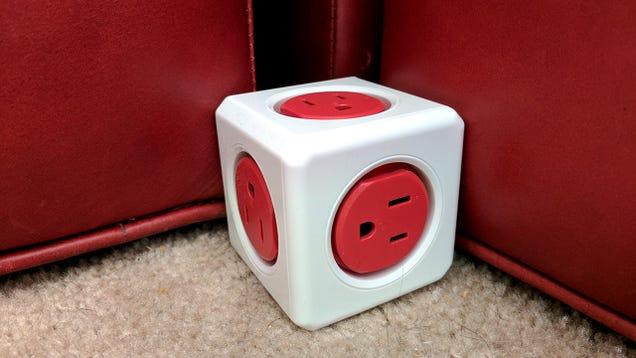 The PowerCube Is a Compact, Modular Alternative to Bulky Power Strips