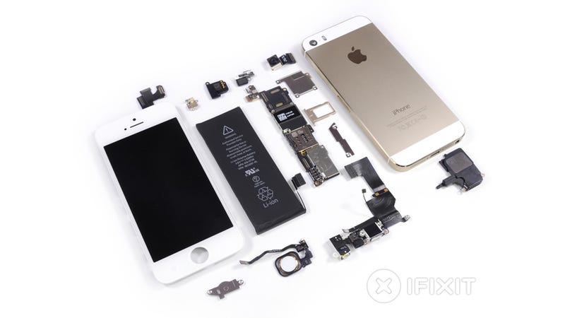 Illustration for article titled The iPhone 5S Teardown: Everything New Is Inside