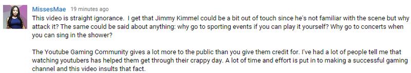 Jimmy Kimmels Jab At Youtube Gaming Backfired
