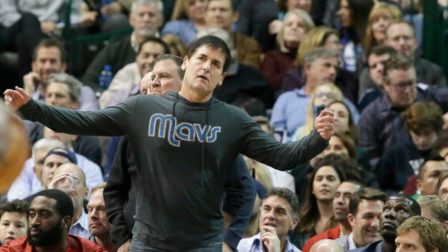Mark Cuban Wants An NBA Referee Punished For Missing This Call