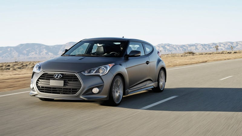 Illustration for article titled 2013 Hyundai Veloster Turbo: 45% More Power, Fun