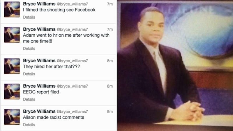 Illustration for article titled Alleged WDBJ Gunman Filmed Murder of TV Crew and Posted it to Facebook and Twitter [Updating]