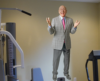 Illustration for article titled There Has Been A Dick Vitale Fathead For Years