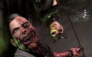 Illustration for article titled First images of Arkham City's villains?