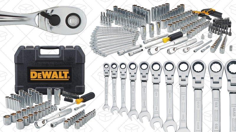 DEWALT Mechanics Tools Gold Box   Amazon