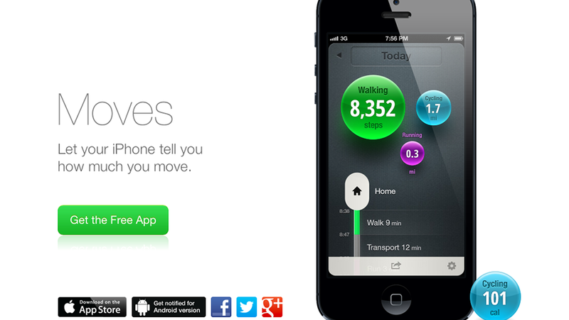 Moves Is a Free App That Tracks All Your Movement  It Is