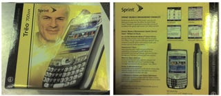 Illustration for article titled Box Pics, Specs of Sprint's Treo 700wx Leaked, August 31 Release Date